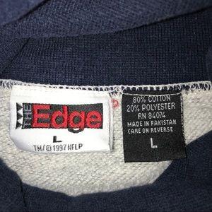The Edge Shirts - The Edge Dallas Cowboys Turtleneck Sweatshirt